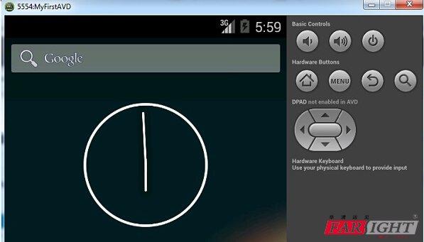 Android studio入门:Android虚拟设备4