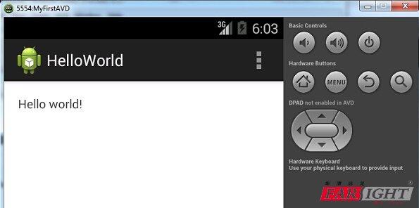 Android studio入门:Android虚拟设备5